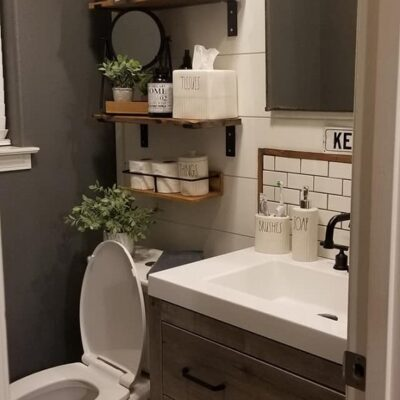 Half Bath Remodel (Farmhouse Style)