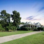 10 Acre Farmhouse in Rome, Georgia including private community airport. Circa 1895. $500,000