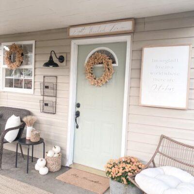 Farmhouse Front Door Inspirations