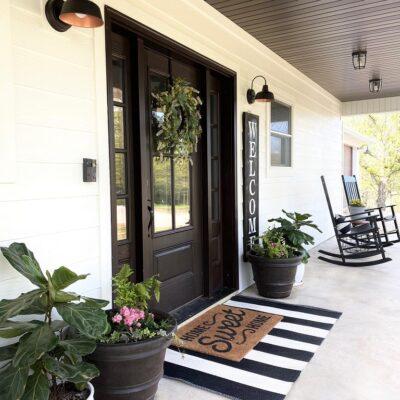Farmhouse Front Porch Inspiration
