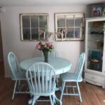Before & After Farmhouse Kitchen Table Makeover