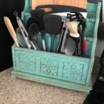 Farmhouse Kitchen Utensil/Cutting Board Holder