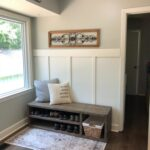 Mud Room Makeover Before & After (Farmhouse Style)