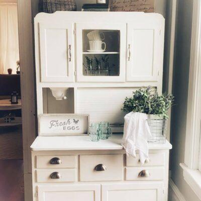 Hoosier Cabinet Makeover