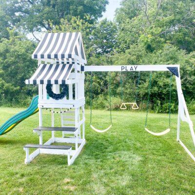 Kids Playground Farmhouse Makeover