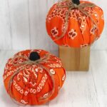 Dollar Tree Bandana Pumpkins