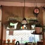 Make Burlap Sack Curtains for Your Kitchen