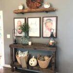 Farmhouse Front Entry Way Fall Inspiration
