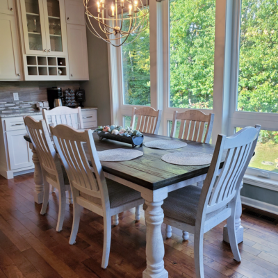 Modern Farmhouse Dining Room Table