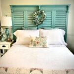 Build a Headboard out of Exterior Shutters