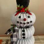 How to Make a Dryer Vent Snowman
