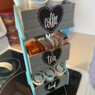 Dollar Tree Coffee Bar Organizer