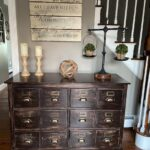 Apothecary Dresser Makeover (Before and After)