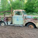 Vintage Truck Garden Display